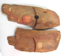 Wooden Mask Fragment – IV.A. 6675 B