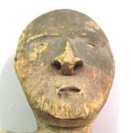 Painted Wood Grave Figure - IV. A. 6679