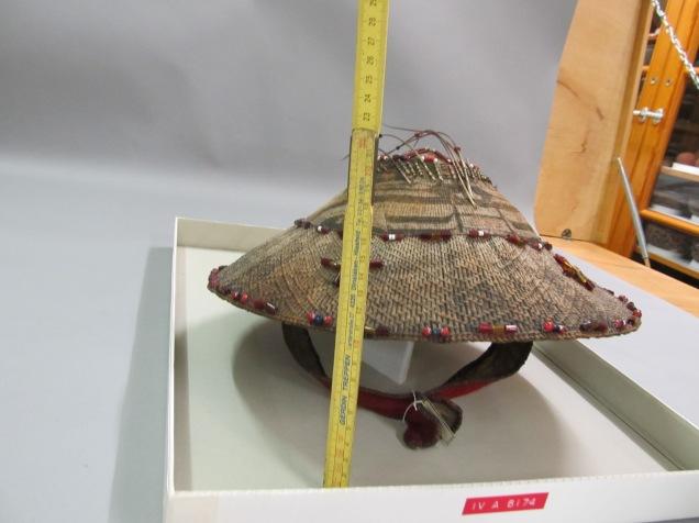 Woven Grass Man's Hat - IV. A. 6174