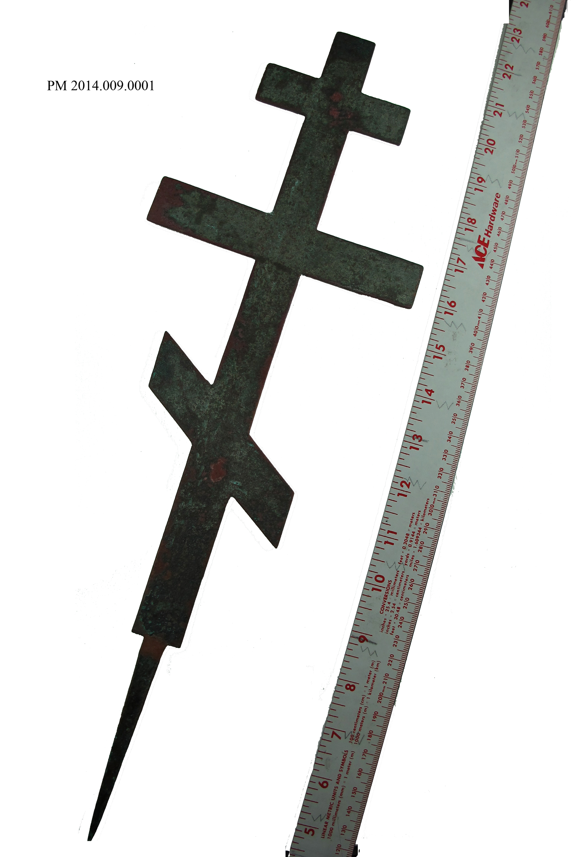 Photographing collection pieces nanwalek history russian orthodox cross pm 2014 009 0001 buycottarizona Image collections