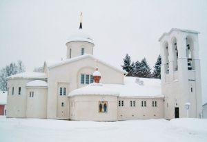 New Valamo Monastery Main Church – Wiki commons by Pertsaboy.