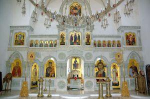 Saint Vladimir Skete – Valaam Monastery Wikimedia Commons - Князь-Владимирский храм на Валааме, by Иерей Максим Массалитин.